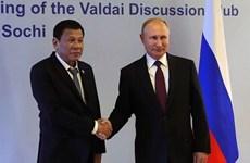 Les Philippines et la Russie vont élargir leur coopération bilatérale