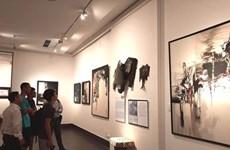 Des œuvres du peintre Lê Ba Dang exposées à Hanoï