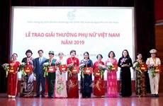 Remise du Prix de la Femme vietnamienne 2019