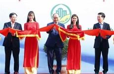 Le chef du gouvernement assiste à une exposition sur la nouvelle ruralité