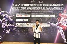 Coupe du monde de taekwondo : le magistral Pham Quôc Viêt