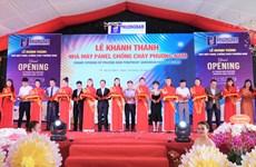 Inauguration d'une usine de panneaux ignifuges de 10 millions de dollars à HCM-Ville