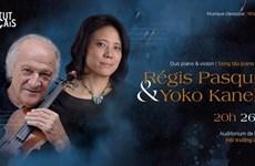 Récital de violon et piano par le duo Régis Pasquier et Yoko Kaneko