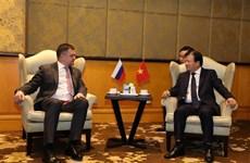 Dialogue d'entreprises Vietnam-Russie 2019 à Hanoï