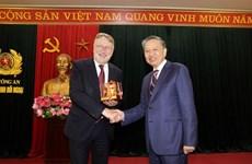 Le ministre de la Sécurité publique salue les liens Vietnam-UE