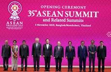 Le PM à la séance d'ouverture du 35e Sommet de l'ASEAN