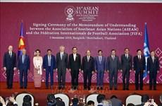 Le Premier ministre Nguyen Xuan Phuc à la séance plénière du 35e Sommet de l'ASEAN