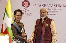 L'Inde veut renforcer ses liens avec le Myanmar