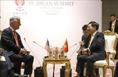 Le vice-PM Pham Binh Minh rencontre l'envoyé spécial du président américain