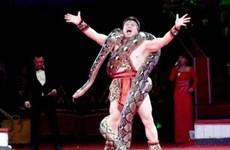 """Cirque : Tông Toàn Thang, le """"prince des pythons"""""""
