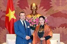 Pour resserrer les relations entre les deux organes législatifs vietnamien et arménien