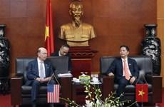 L'édification de la confiance stratégique pousse les liens Vietnam-Etats-Unis