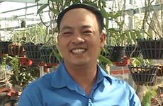 Cultivateur d'orchidées à Ninh Thuân et fier de l'être