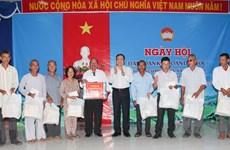 La Fête de grande solidarité nationale célébrée dans des localités
