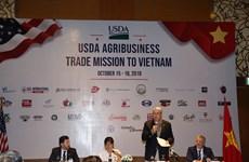 Les Etats-Unis veulent exporter plus de produits agricoles au Vietnam