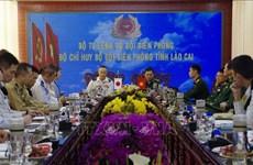 Une délégation militaire japonaise se rend à Lào Cai