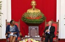 Un responsable du Parti souligne les relations avec le Mozambique
