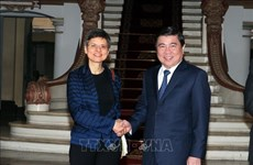 Promotion de la coopération entre la province d'Anvers et HCM-Ville