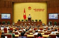 La 19e journée de travail de la 8e session de l'Assemblé nationale