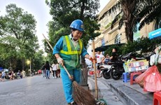 Nguyên Thi Thanh Hiêu, gardienne de la propreté de Hanoï