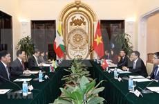 Vietnam-Myanmar : consultation politique au niveau des vice-ministres
