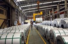 Près de 2,5 milliards d'USD d'exportations de produits sidérurgiques