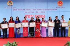 183 enseignants de l'Année 2019 à l'honneur