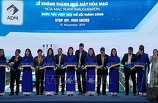 Ha Nam : inauguration de l'usine de production d'aliments pour animaux