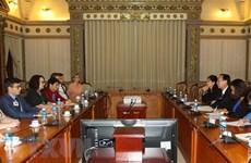 Hô Chi Minh-Ville souhaite intensifier sa coopération avec l'Australie
