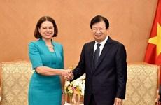 Promotion de la coopération Vietnam – Australie