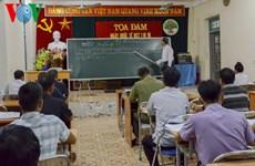 Quand l'écriture thai ancienne revient au goût du jour