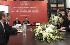 L'assistance britannique au Vietnam dans la production de vaccins