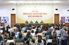 Conférence de presse sur la 8e session de l'Assemblée nationale