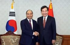 Le PM Nguyen Xuan Phuc rencontre son homologue sud-coréen