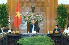 Le PM préside une réunion sur le projet de solution 01 pour 2020