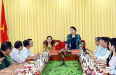 La présidente de l'AN Nguyen Thi Kim Ngan se rend dans la province d'An Giang