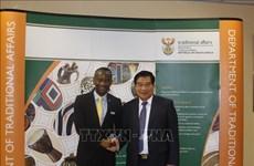 Le Vietnam et l'Afrique du Sud échangent sur les affaires ethniques