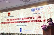 La Journée internationale des personnes handicapées célébrée au Vietnam
