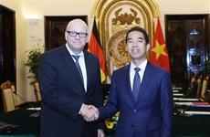 Réunion du Groupe de direction stratégique Vietnam-Allemagne à Hanoï