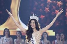 Nguyen Tran Khanh Van couronnée Miss Univers Vietnam 2019