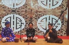 Le chant ca trù réenchante le public à Hanoi