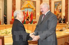 Vietnam-Biélorussie : promotion des relations d'amitié traditionnelle et de coopération multiforme