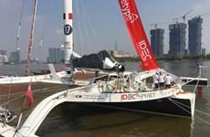 Le voilier le plus rapide du monde a jeté l'ancre à Hô Chi Minh-Ville
