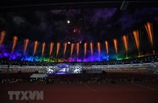 SEA Games 30: Le drapeau des SEA Games remis au Vietnam