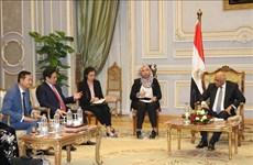 Le Secrétaire du Comité central du Parti en visite en Egypte