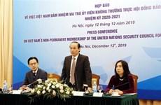 """Le Vietnam """"oeuvrera pour la paix, la coopération et le développement"""""""