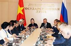 La Commission interparlementaire Vietnam-Russie explore de nouveaux horizons