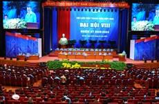 Ouverture du 8e Congrès national de la Fédération de la jeunesse du Vietnam
