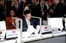 Le vice-PM Pham Binh Minh à la 14e conférence des ministres des AE de l'ASEM à Madrid