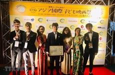 Hanoï : élèves primés lors du Festival international de films pour l'enfant de l'Asie